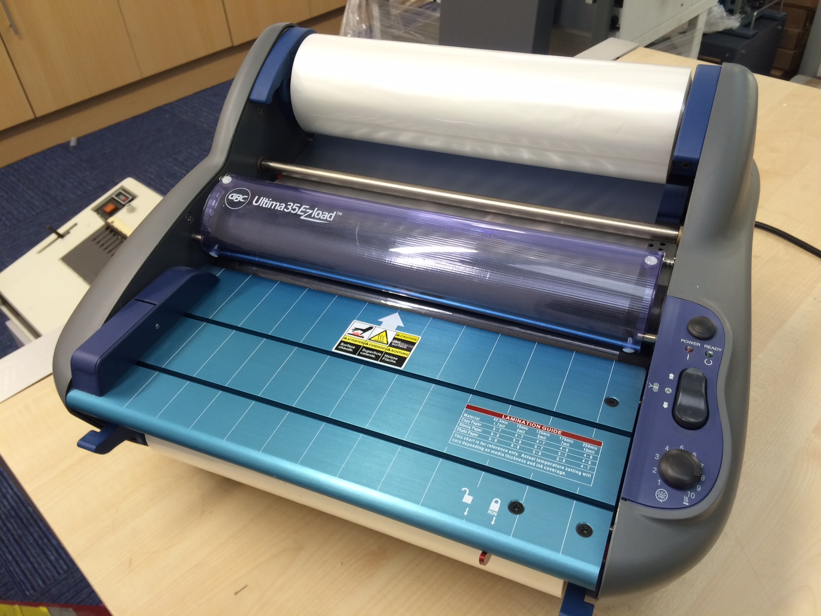 GBC Ultima 35 Ezload A3 Roll Laminator