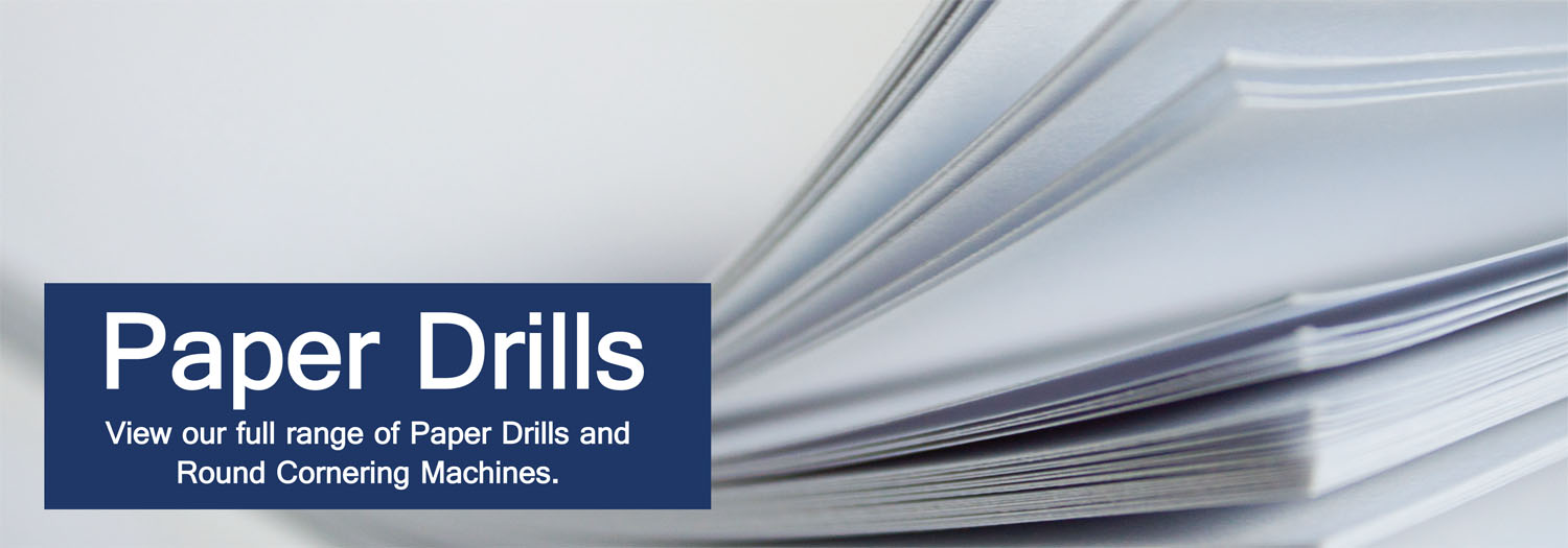 Paper Drill Punch & Paper Drilling Machines - Binding Store UK