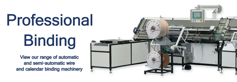 Professional / Industrial Binding Machines & Equipment - Binding