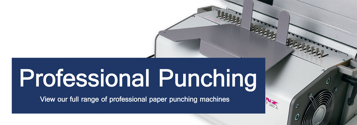 Professional Paper Punching Machines Systems Binding Store Uk
