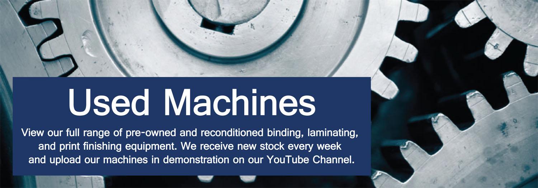 Used Bindery Equipment & Print Finishing Machines - Binding Store UK
