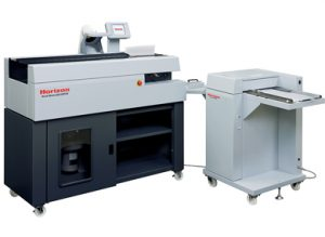 Horizon BQ-160 with Horizon CRB-160 Cover Creaser Feeder