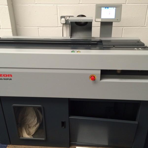 Horizon BQ-160 PUR Perfect Binding Machine