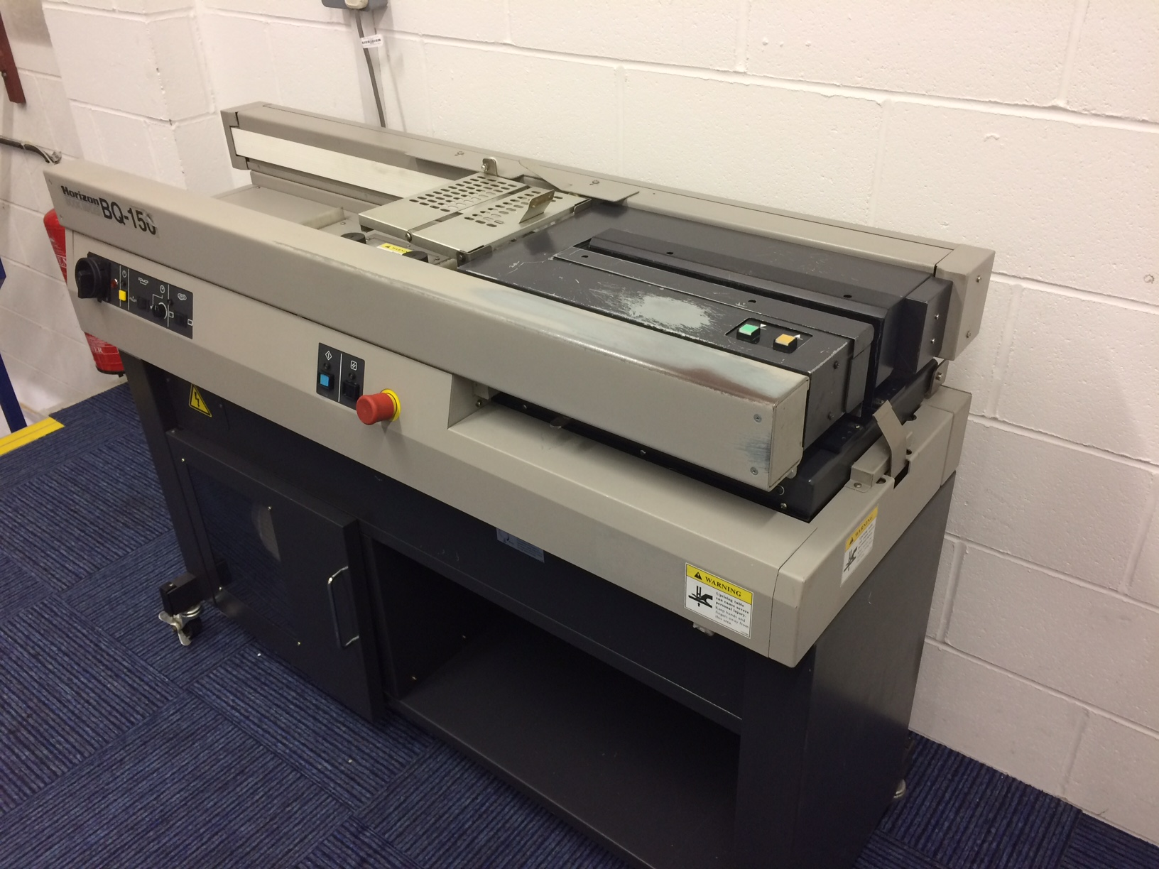 Horizon Bq150 Perfect Binding Machine Perfect Binder