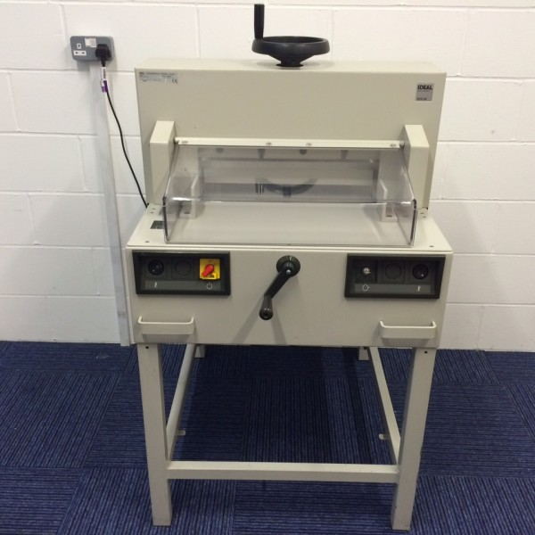 Now Available – Used Ideal 4810-95 Guillotine
