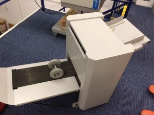Used KAS Creasefold Card-fold Unit