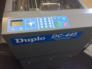 Duplo DC 445 Creasing Machine