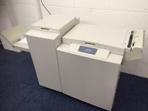 Plockmatic SR90 Bookletmaker and Trimmer