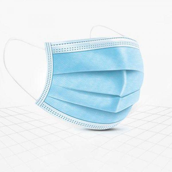 Face Masks – Soft loop 3 PLY disposable medical masks – 50 Pack