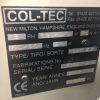 Col-Tec Machine Plate